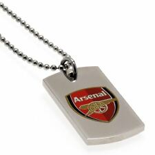 Arsenal FC Colour Crest Dog Tag Football Soccer EPL