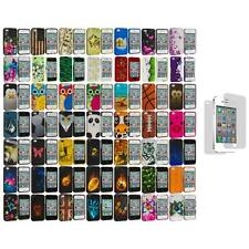 Design Hard Rubberized Snap-On Cover Case+3X LCD Protector for iPhone 4 4S 4G