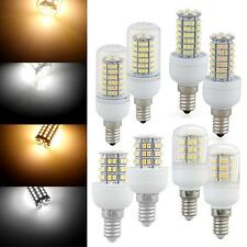 E14 3.5W/5W/6W/7W LED 3528 SMD Warm/White Corn Light Lamp Bulb AC 220V