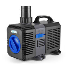 Pond Pump 2100GPH Adjustable Submersible Inline Fountain Waterfall Koi Filter