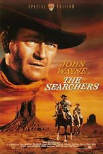 THE SEARCHERS Movie Silk Fabric Poster John Wayne Western Classic
