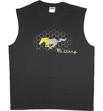 Men's sleeveless t-shirt Ford Mustang pony grill design muscle tee tank top