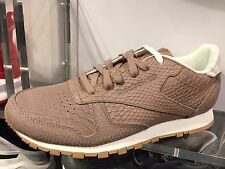 Reebok Classic Leather Execute Taupe Women SIzes
