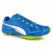 Puma Haraka Cross Country Running Spikes Shoes Blue/Silver Athletics