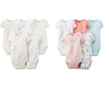 NWT CARTER'S Girls 5 Pack Bodysuits Size 6 9 12 18 24 Months u Pick New