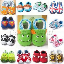 Newborn Cute Infant Toddler Soft Sole Cotton Baby Boy Girls Crib Shoes Prewalker