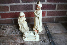 Christmas Nativity Scene Mary Joseph Jesus Made in Korea