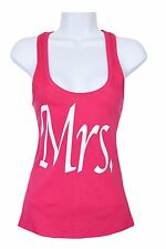 New Mrs Racer Back Tank top