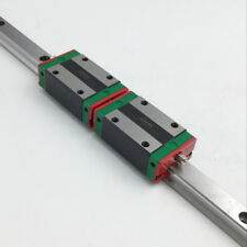 Multi Length HGR20 Linear Guide Rail + 2pc HGH20CA Block Carriage HIWIN Original