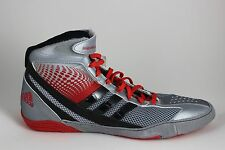 Mens Adidas Response 3.1 Wrestling Shoes Gray/Black/Red M18788 Brand New in Box