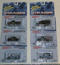 Johnny Lightning 1/64 Scale Die Cast Pearl Harbor Set of 6 Day of Infamy NIB