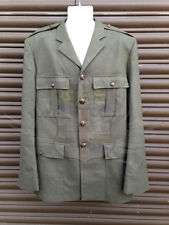 ROYAL MARINES SURPLUS No.5 LOVAT GREEN UNIFORM DRESS TUNIC WITH SUBDUED BUTTONS