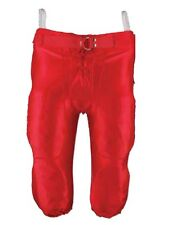 New Martin Slotted Football Dazzle Finish Game PANTS 100% Poly S-3XL Adult Red