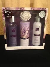 New Taylor Of London Levender Relaxing Bath Soak Luxurious Gift Set