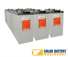 12V/ 24V/ 48 VOLT 1380 AH OFF GRID SOLAR DEEP CYCLE AGM BATTERY BANKS FOR SAPS