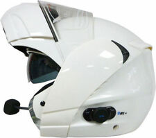 Viper RS-V131 Flip Front/Up Bluetooth Motorcycle Helmet White + Free Balaclava