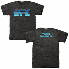 Urijah Faber UFC The Ultimate Fighter 22 Black Team Faber Tri-Blend T-Shirt