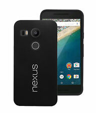 Official google Bumper Hard TPU Cover Case Tempered Glass film For LG Nexus 5x