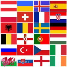HUGE EURO 2016 COUNTRY FLAG BUNTING NATIONAL FLAGS BANNER FOOTBALL EVENT PARTY