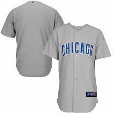 Majestic Chicago Cubs Gray Official Cool Base Jersey