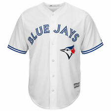 Majestic Toronto Blue Jays Youth White Official Cool Base Jersey