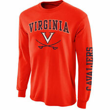 Virginia Cavaliers Orange Arch & Logo Long Sleeve T-Shirt
