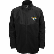 Jacksonville Jaguars Youth Boys Black Tactical Polar Fleece Full-Zip Jacket