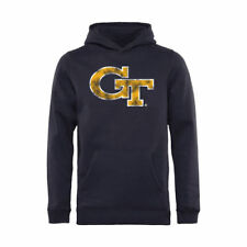 Georgia Tech Yellow Jackets Youth Navy Classic Primary Pullover Hoodie