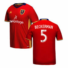 adidas Kyle Beckerman Real Salt Lake Youth Red 2016 Replica Primary Jersey