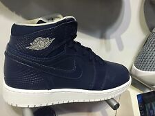 Nike Air Force 1 High Midnight Navy White Blue 705300 405 Youth Sizes