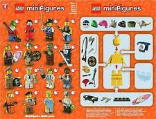 BNIB Lego Series 4 Minifigures - Choose your FACTORY SEALED CMF Mini figure Set