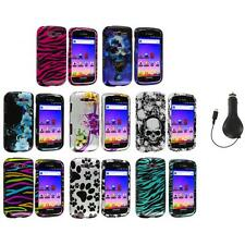 Design Hard Snap-On Case Cover+RET Charger for Samsung Galaxy S Blaze 4G T769