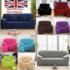L-Shaped Stretch Chair Cover Sofa Covers 1 2 3 Seater Protector Couch Slipcovers