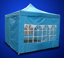 New Deluxe EZ Canopy Pop Up Tent 10 X 10' Gazebo With 4 Walls &Carrying Bag