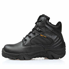 Delta Tactical Desert Hunting Lightweight Combat Shoes Leather Ankle Short Boots