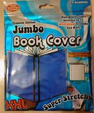PREMIUM EDITION ~ JUMBO BOOK COVER XXL (DARK BLUE)  **FREE SHIPPING**