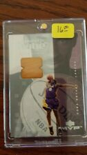 KOBE BRYANT UPPER DECK AUTHENTIC PIECE OF GAME FLOOR LAKERS