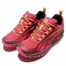 Merrell Siren Edge Womens Red Yellow Outdoors Hiking Shoes Trainers ML35518