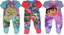 New Baby Boys Girls Jumpsuit Pyjamas Clothes Size 0, 1,2,3,4,5 Dora, Car,Twinker
