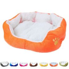 Newly Pet Dog Cat Comfy Bed Warm Kennel Mat Puppy Nesting Cushion Pad Cozy Sofa