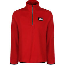 Craghoppers Mens Bear Grylls Core Half Zip MicroFleece Jacket Red