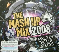 MINISTRY OF SOUND - The Mash Up Mix 2008 (2xCD) . FREE POSTAGE .................