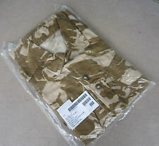 NEW UK BRITISH ARMY SURPLUS ISSUE SOLDIER 95 DESERT DPM CAMO COMBAT SHIRT-PARA