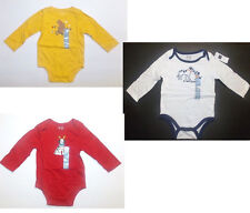 Baby Gap Infant Boys Body Suits 3 Choices Sizes 6-12M and 12-18M NWT