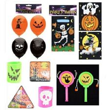 Halloween Party Toys Fillers Bags Balloons - Assorted Quantities & Designs