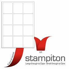 Address Labels Stampiton 1-65 Per Sheet, A4 Self Adhesive Labels