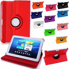 360 Degree Rotating Leather Stand Case Cover  For Samsung Galaxy & Nexus Tablets