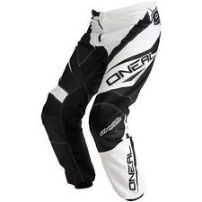 "MOTOCROSS MX O'NEAL BIG Black/White Senior Pants 48-52"", 4BP Armour, Kneeguards"