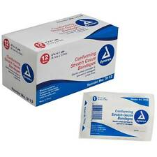 Dynarex Stretch Gauze Bandage Roll Non-sterile Multiple Widths For Your Needs