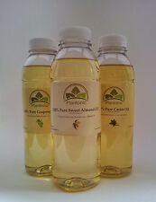 Carrier Oils Any 3 x 500ml Sweet Almond/Castor/Grapeseed ONLY £12.99! SAVE £££